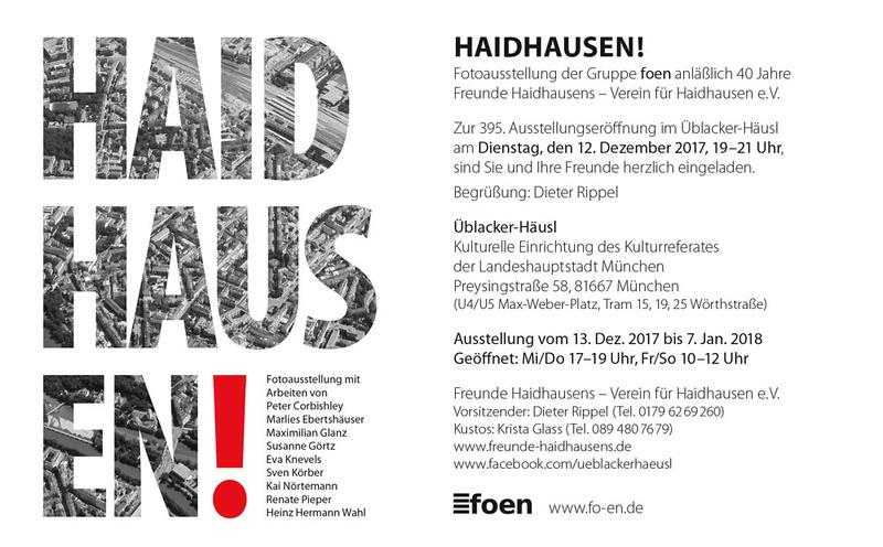 Haidhausen - Ausstellung Üblacker-Häusel